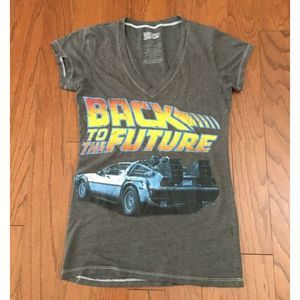 """Ladies/Juniors """"Back to the Future"""" T-Shirt Small"""